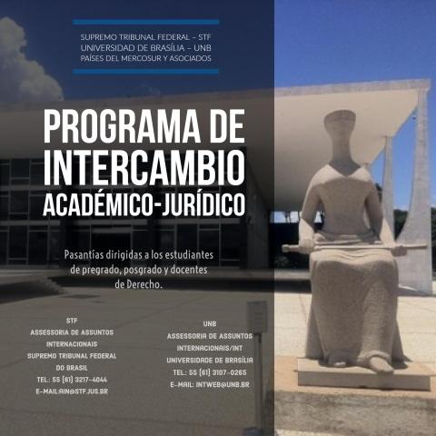 Programa de intercambio entre las Universidades y Cortes Supremas del Mercosur